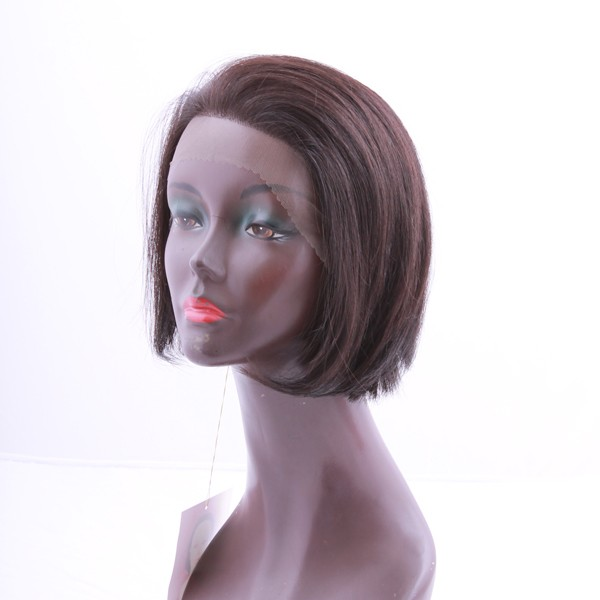 HUMAN HAIR LACE FRONT TULE WIG