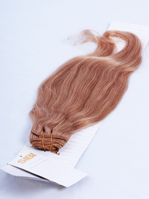 CLIP EXTENSION x9 BANDS - 50 cm-14- ASH LIGHT HONEY